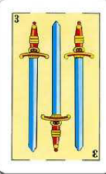 Espadas en la Baraja Española